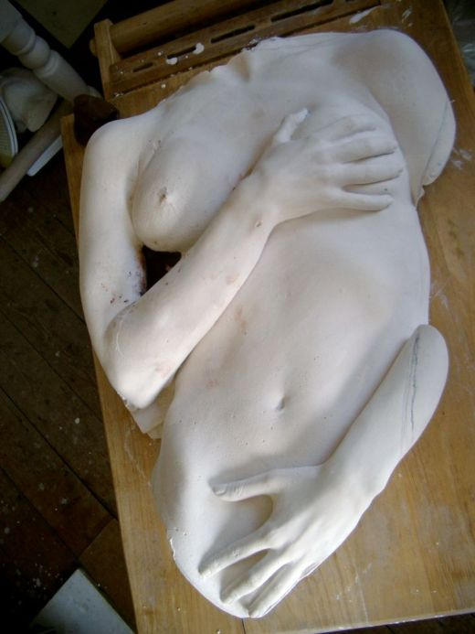 Model in plaster, finised result_edited
